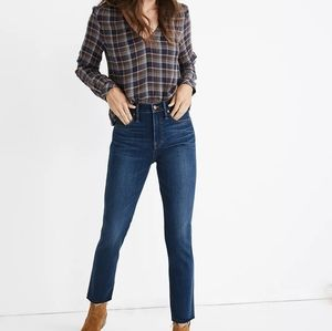 Madewell Stovepipe Jeans Fairdale: TENCEL NWOT